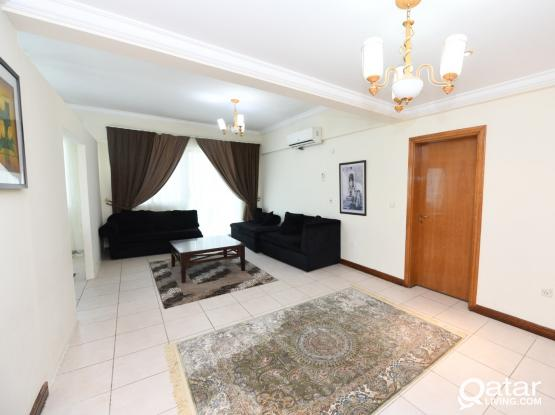 2 Bedrooms Fully Furnished  Apartement in Corniche No commisiion fee