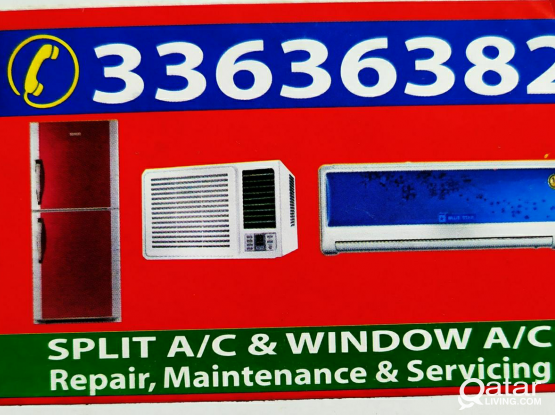 A/C  installation with service