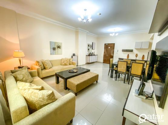SHORT-TERM Fully Furnished 2-Bed Apartments