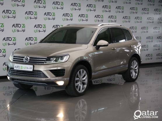 Volkswagen Touareg Sport 2015