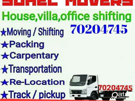 Moving shifting carpenter paking painting  partition 70204745