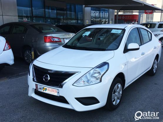*DOOR DELIVERY* Nissan Sunny 2019 For Rent - 33319050