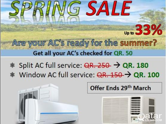 AC Services SPECIAL OFFER!