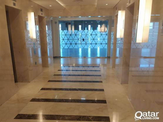 3 Months Free 127 sqm Modern Office space available in Lusail