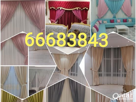 Curtains New Making Repair & Fixing. Please Call Me 66683843