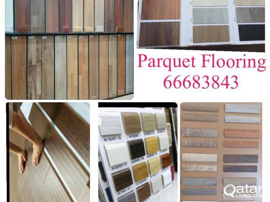 Parquet Wood Vinyl PVC Plastic Flooring Sales Fixing . Please call 66683843