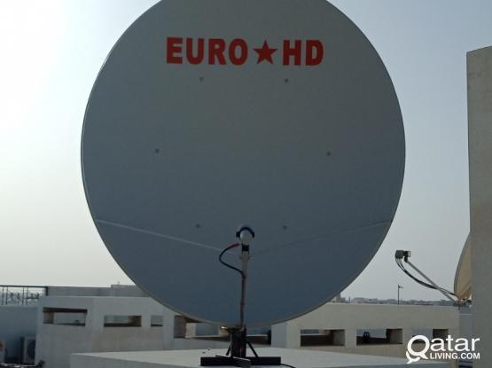 AIRTEL DISH (250:QR) CALL 50030899 BRAND NEW EURO STAR HD 165CM OFSET BIG DISH 99% SIGNAL STRENGTH AND HIGH QUALITY REFLECTOR (SATELLITE DISH INSTALLATION & MAINTENANCE & SERVICES)