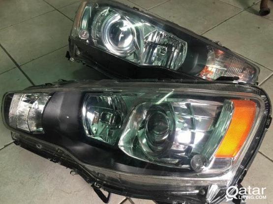 Lancer GT HID Headlights