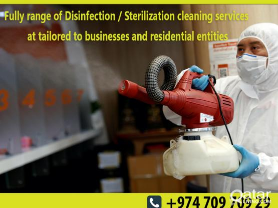 PROFESSIONAL PEST CONTROL AND DISINFECTION CLEANING SERVICES CALL NOW 709 709 29