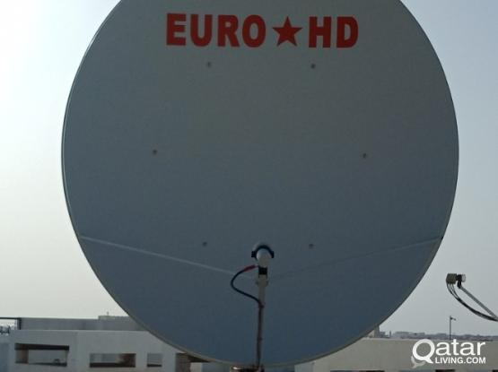 AIRTEL DISH FREE INSTALL CALL 50030899 BRAND NEW EURO STAR HD 165CM OFSET BIG DISH 99% SIGNAL STRENGTH AND HIGH QUALITY REFLECTOR
