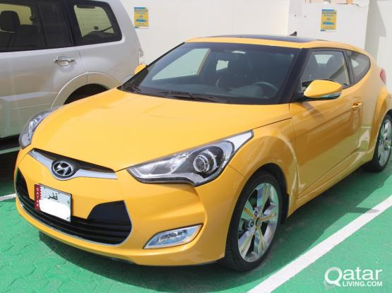 Hyundai Veloster Daily 150 QR - Monthly 2400 QR