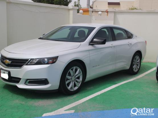 Chevrolet Impala Daily Rate 150 QR Monthly Rate 2550 QR