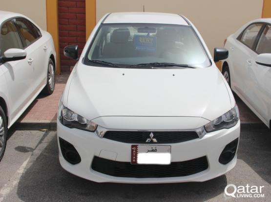 Mitsubishi Lancer Daily 110 QR - Monthly 1650 QR