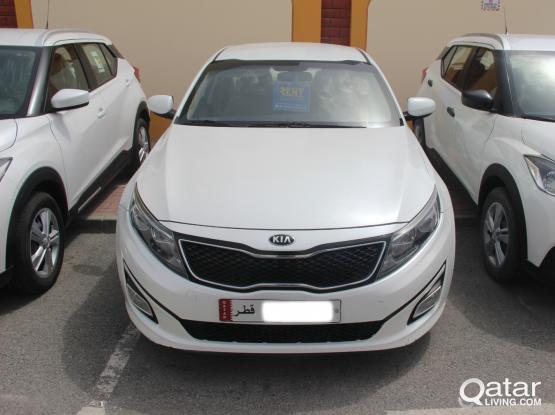 Kia Optima Daily 105 QR - Monthly 1800QR