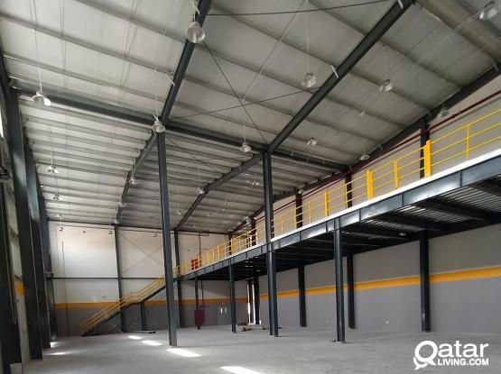 1100 sqm warehouse available in birkat Al Awamir