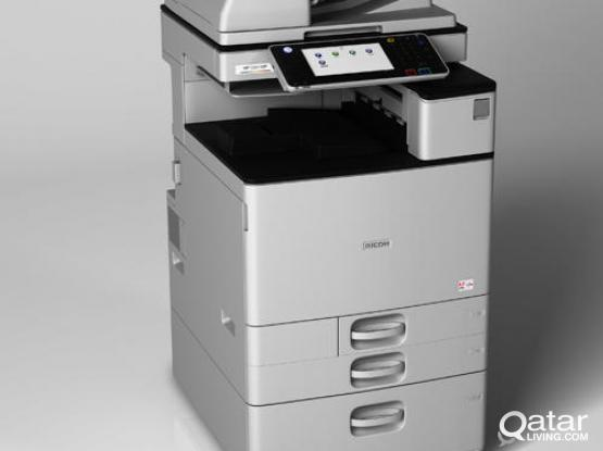 NEW STOCK FROM RICOH MACHINES FROM GERMANY STARTS FROM 3000QR