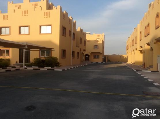 Spacious villas for families or bechelors