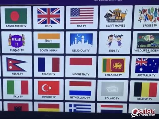 Live Tv channels on Smart Android tv/Mobile/Tab all countries