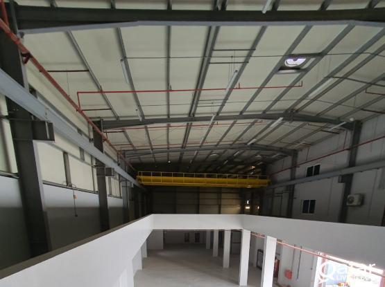 3000SQM Aluminum factory for rent