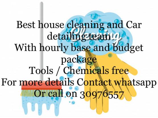 House / villa General cleaning and Deep cleaning