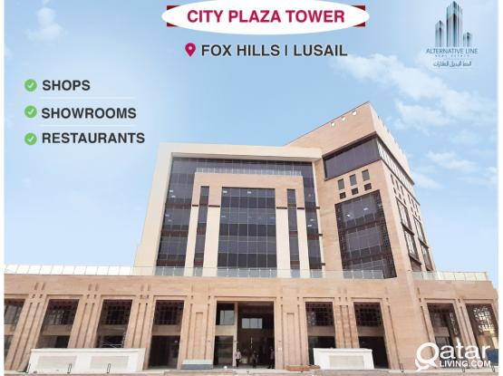 Brand New Shops in Fox Hills/Lusail