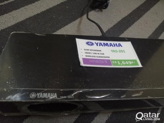 Yamaha Slim Soundbar YAS-201