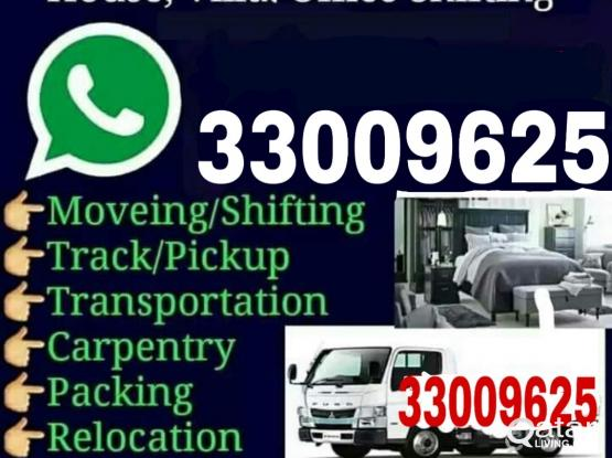 Moving, Packing, Carpentry, Truck services. Call : 33009625