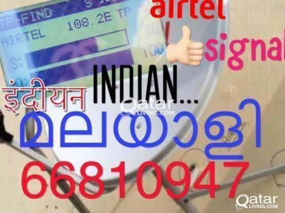 Airtel Dish antenna installation and services call 66810947