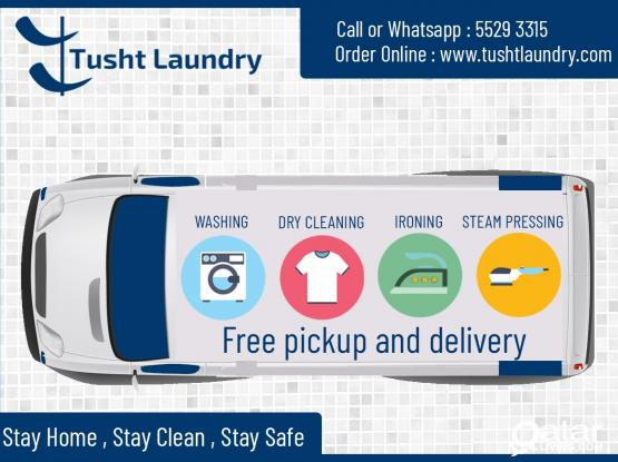 Laundry Services (Free Pick & Drop)