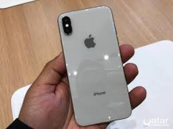 I phone X 64 GB-silver in awesome condition for sale