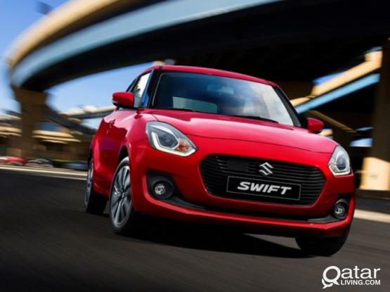 BIGGEST OFFER # 2020 MODEL SWIFT FOR RENT - MONTHLY 1400 QR , CALL 44 44 1243 / 555 70 470