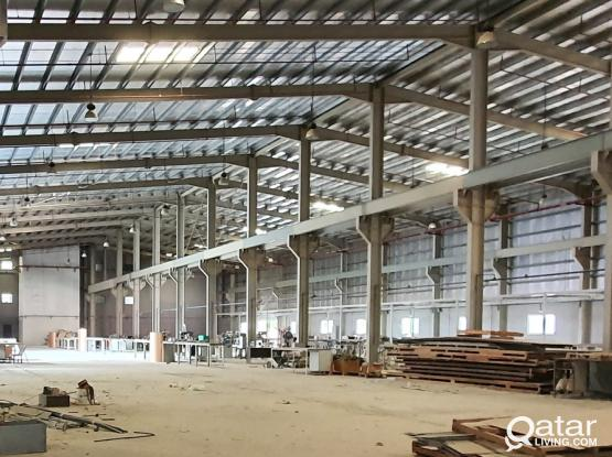 8000SQM fabrication factory for rent