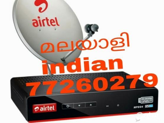 AIRTEL DISH HD RECEIVER CALL 77260279 SATELLITE DISH INSTALLATION & MAINTENANCE SERVICE