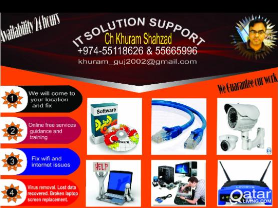 Laptop Services Qatar
