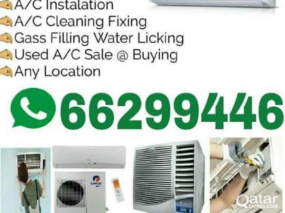 Ac servicing & buy and sell used AC. all kind of AC 66299446
