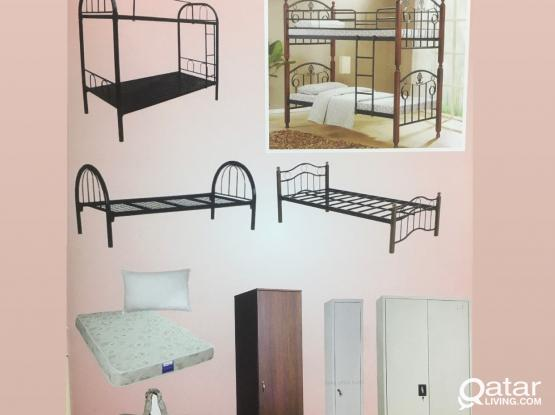 BRAND NEW GOOD QUALITY LABOUR CAMP AND STAFFS ACCOMMODATION FURNITURE FOR SALE - CALL +97477850533