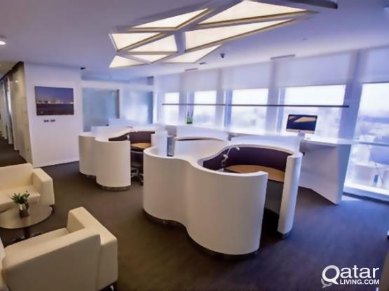 Looking for Luxurious Private Office?  Starting From 3900 Qr !No Commission