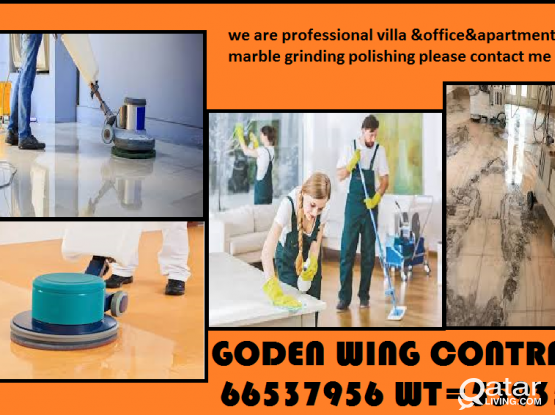 we are professional marble polishing cleaning company
