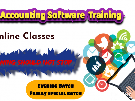 ACCOUNTING SOFTWARES TRAINING 1000 only