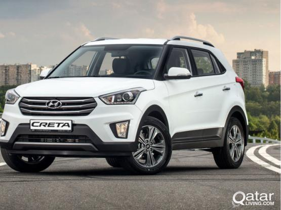 Hyundai Creta 2018 For Rent