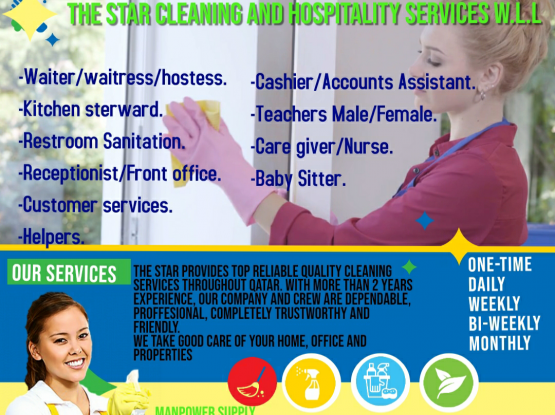 The Star cleaning and hospitality services