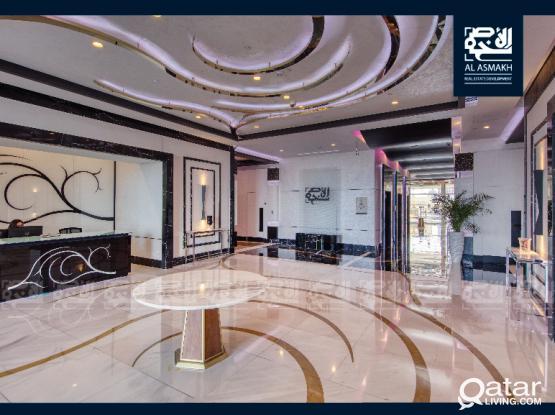 Luxurious & Semi Furnished Studio in The Pearl