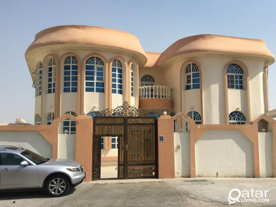 Near to villagio 1 bhk villa apartment available at azizia behind ajmal food centre for family