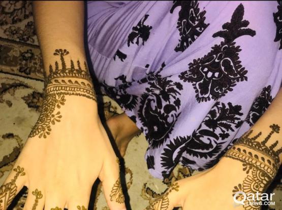 Henna/mehendi art