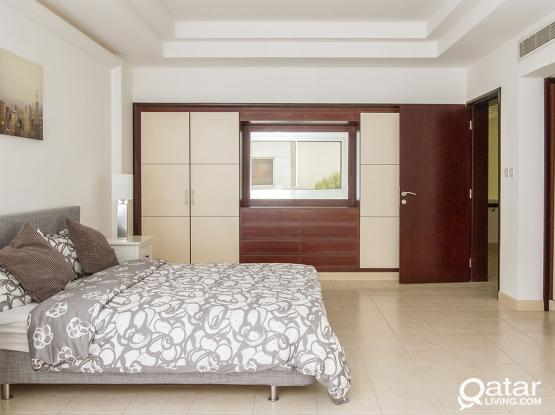 Super Luxury modern High end villas in Al Waab 1 month free