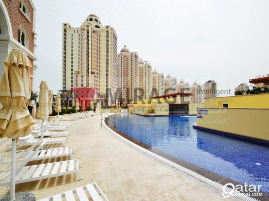 NO COMMISSION   1-bed apartments in Viva Bahriya (Ref no AP2532)