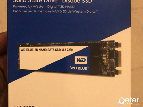 . Wd blue M.2 2280. SSD. Solid state drive. New