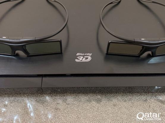 Samsung 3D Blu-ray Player + 3D Active Glasses