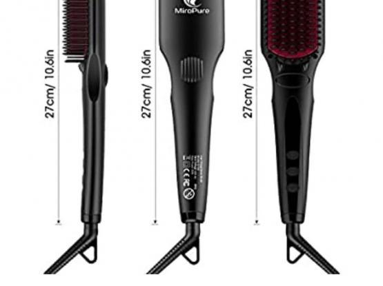MicroPure Brush Hair Straightener