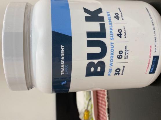 BULK Pre Workout